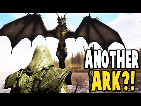 Citadel - ANOTHER ARK?! TAMING WOLF PACK, SLAYING MONSTERS - Citadel: Forged with Fire Gameplay