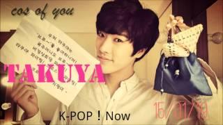 K-POP!Now 2015/01/19 TAKUYA 韓国のバラエティー番組で人気なんだよね! 何をトークをしているの??