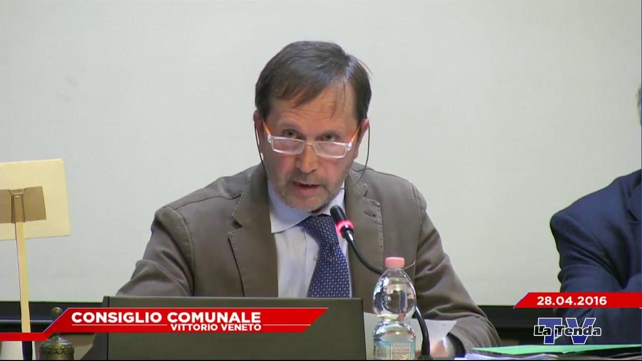 CONSIGLIO COMUNALE VITTORIO VENETO - Seduta del 28.04.2016