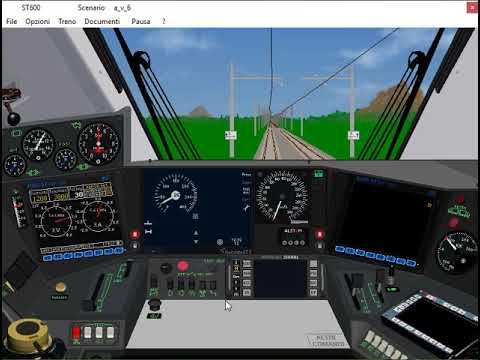 Simulatore Treno Di Paolo Sbaccheri (scenario Di Test)