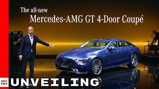 2019 Mercedes-Amg Gt 4-Door Coupe Unveiling