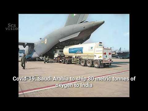 Covid-19: Saudi Arabia to ship 80 metric tonnes of oxygen to India