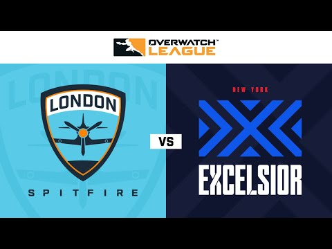 New York Excelsior vs London Spitfire vod
