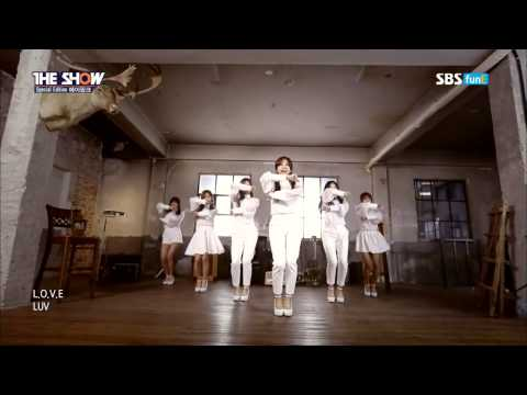 Special Edition 150804 Apink 에이핑크   Making & LUV 러브 @ 더쇼 live The Show 1080p 60fps