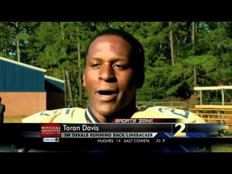 MONTLICK & ASSOCIATES, Atlanta Injury Attorneys' Athlete of the Week – Week 7