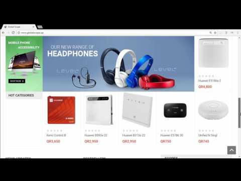 1st Technology Online Store in QATAR