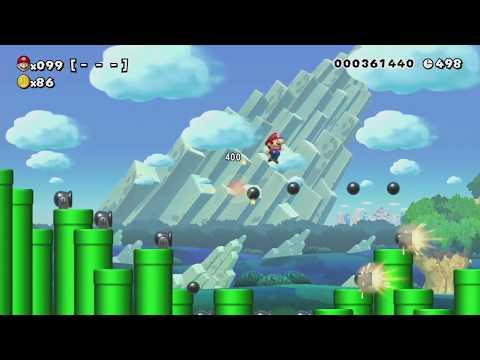 TAXABLE HYSTERIA ~ Normal 100 Mario Challenge - Super Mario Maker - No Commentary