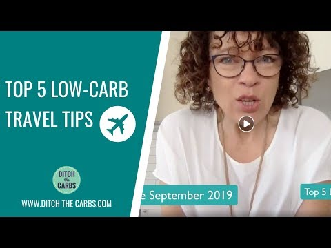 Top 5 Low-Carb Travel Tips