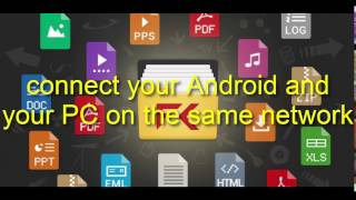 How to transfer file(s) from ANDROID to PC  using FILE COMMANDER || SUPER FAST!!