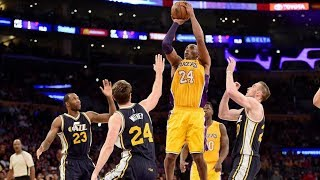 FULL KOBE BRYANT LAST GAME | JAZZ VS. LAKERS (13/04/2016)