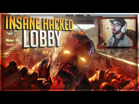 """IS THIS BO3 ZOMBIES?!"" (INSANE HACKED LOBBY!)"