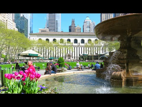 Bryant Park: Best Park in New York City?