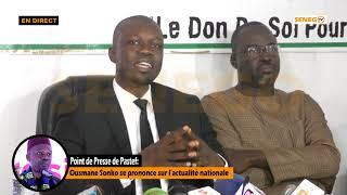 Scandale de 10 milliards de Dollars Discours de Ousmane sonko sur affaire Aliou sall