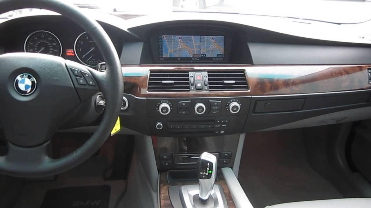 2008 bmw 528xi black stock z57524 interior