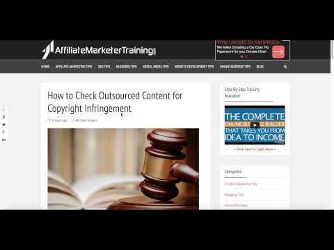 How To Check Content For Copyright Infringement