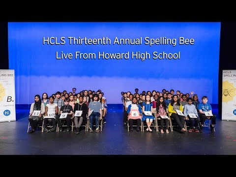 2018 HCLS Spelling Bee-  Live From Howard HS