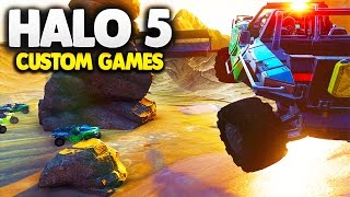 Halo 5 Custom Maps | Episode 7: Alpine Rally Race