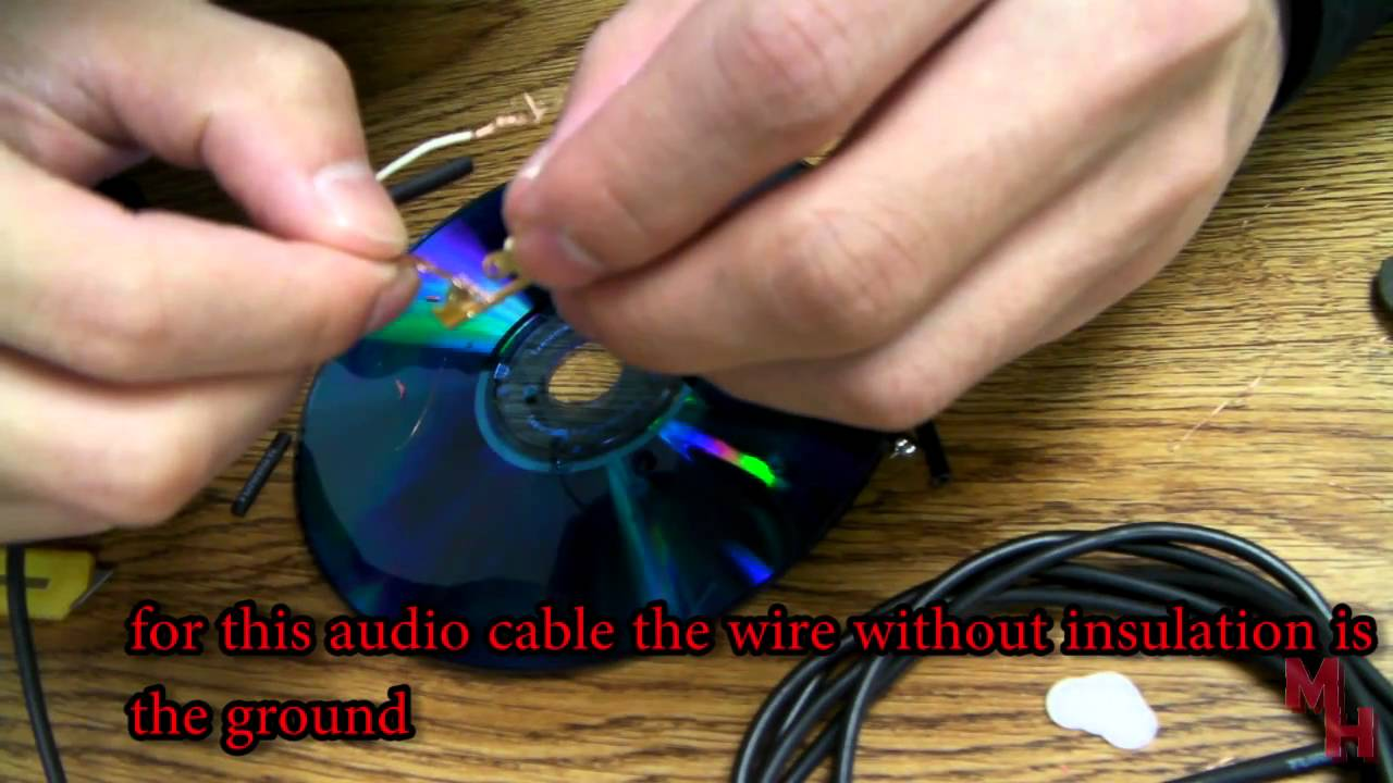 small resolution of how to fix or replace a bad audio jack cable plug solder less youtube