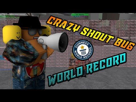 Miners Haven: CRAZY SHOUT BUG (World record longest shout)