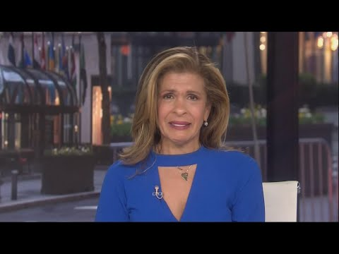 Hoda Kotb BREAKS DOWN in Tears  on the Today Show