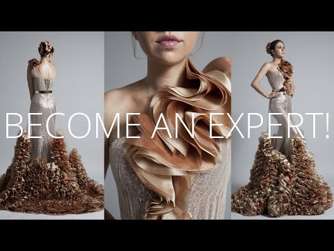 Premium Dress | How to sew Haute Couture Fashion Dress DIY