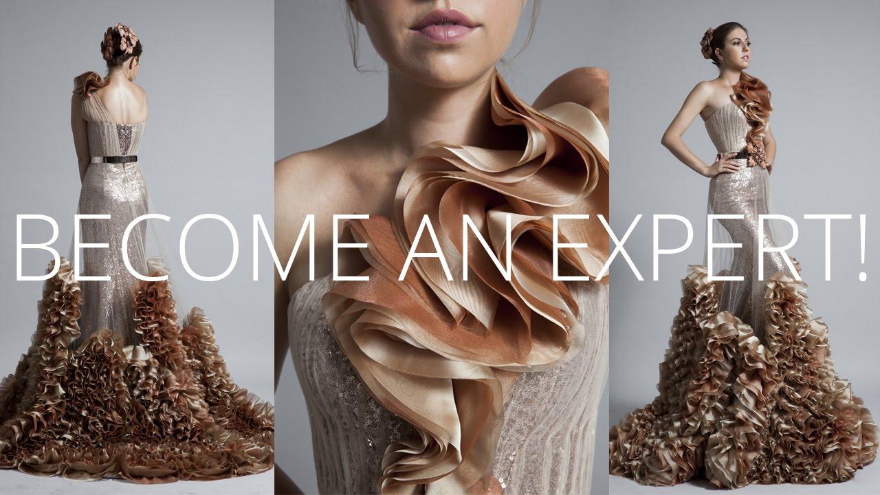 Premium Dress  How to sew Haute Couture Fashion Dress DIY  YouTube