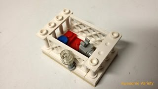 How To Build A Lego Bunny Cage
