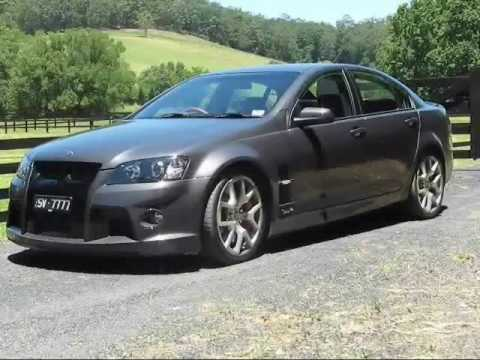 Carsguide Road Test: Holden HSV W427 - YouTube
