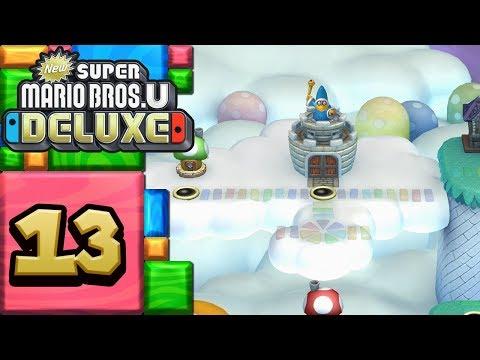 New Super Mario Bros. U Deluxe ITA [Parte 13 - Nuvole di meringa]