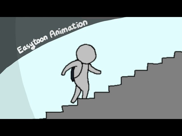 Easytoon Animation Climbing The Stairs Youtube