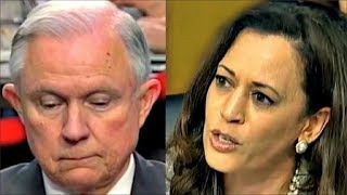 Kamala Harris makes Jeff Sessions NERVOUS Free HD Video