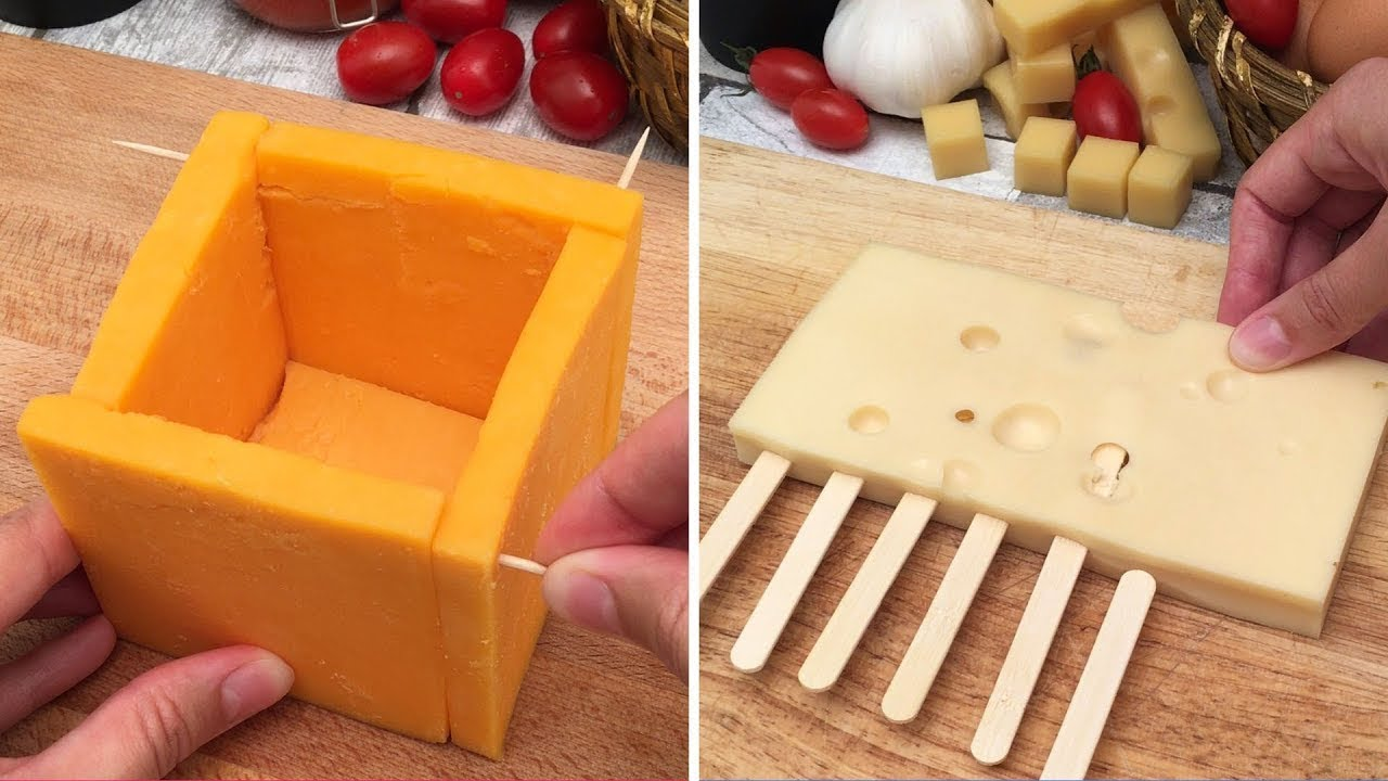 speical offer best website official photos A Magical Melting Cheddar Cheese Cube 🧀 3 Easy Fondue Towers 😱 and 6 More  Brillant Cheese Hacks