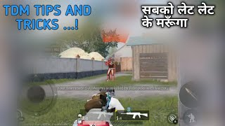 Pubg Mobile Tdm Mode Tips And Tricks + Pubg Mobile Hindi Gameplay