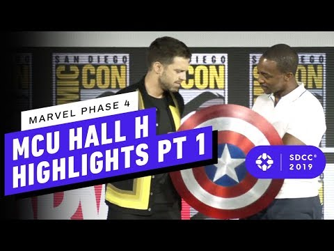 Marvel Studios: MCU Phase 4 Hall H Panel Highlights Pt. 1 - Comic Con 2019