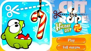 CUT THE ROPE: HOLIDAY GIFT - Gameplay Part 1: Levels 1-1, 1-2, 1-3, 1-4, 1-5, 1-6, 1-7, 1-8 & 1-9