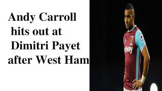 Andy carroll bicycle overhead kick today