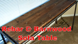 Rebar Sofa Table