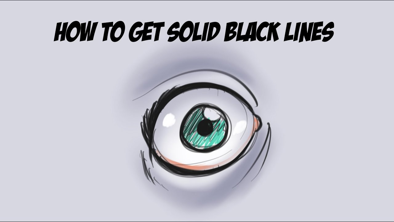 Drawing Smooth Lines In Photo With Tablet : Sketchbook pro tutorial how to draw solid lines youtube