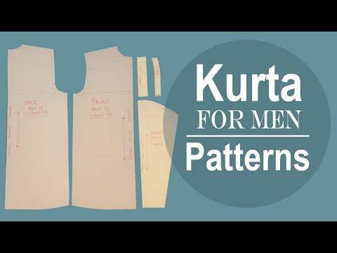Men´s Kurta Patterns - Cloud Factory