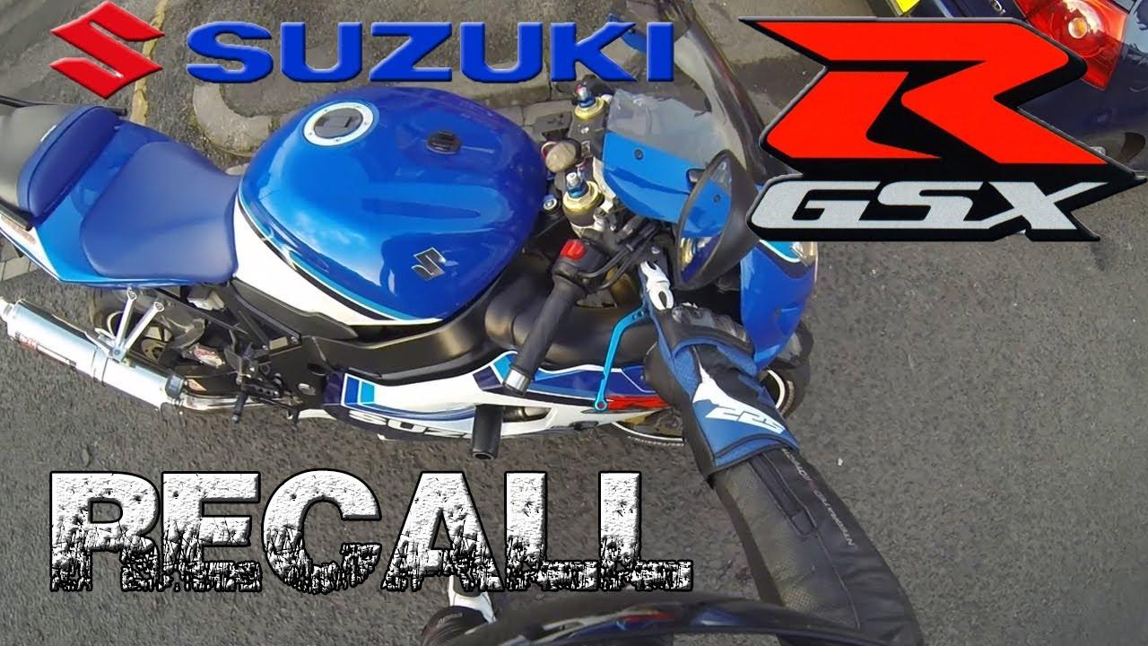 Suzuki GSXR Recall!