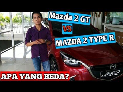 Mazda 2 GT VS Mazda 2 Type R Apa Yang Beda?