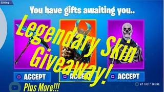 (LIVE) Fortnite PS4 Giving Away 2 Legendary skins !!! ! Playing w/Subs!!!! Road to 1k Subs!