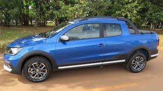 Nova Saveiro Cross Cabine Dupla 2017 - avaliação - consumo, desempenho - www.car.blog.br