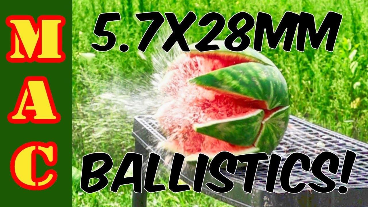 5.7x28mm ballistics test with surprising results! How does it compare to 9mm?