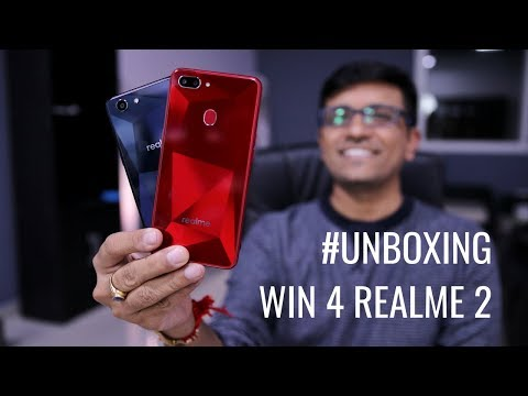 WIN 4 REALME 2 Smartphones – The Real Me 2 Unboxing