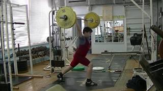 Пряничников Максим, 10 лет, вк 62 Толчок 50 кг Есть личный рекорд!