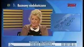 Rozmowy niedokończone - Wojna ekonomiczna - mec. Elżbieta Barys