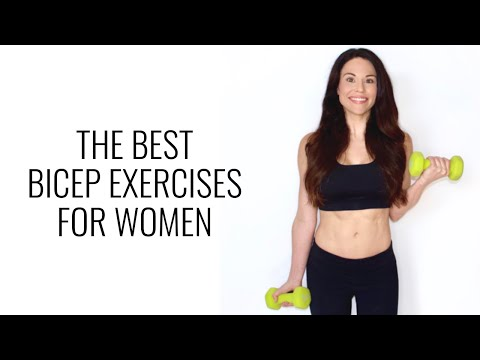 The Best Bicep Exercises for Women - Christina Carlyle