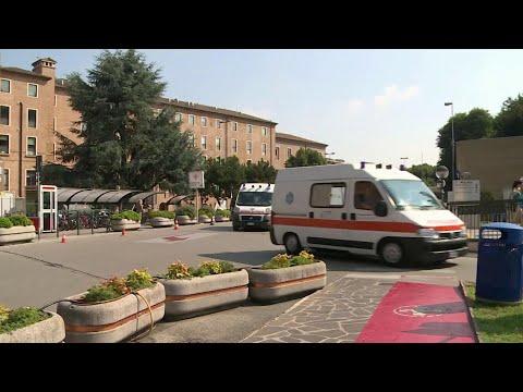 В Италии число зараженных коронавирусом превысило 50 человек.