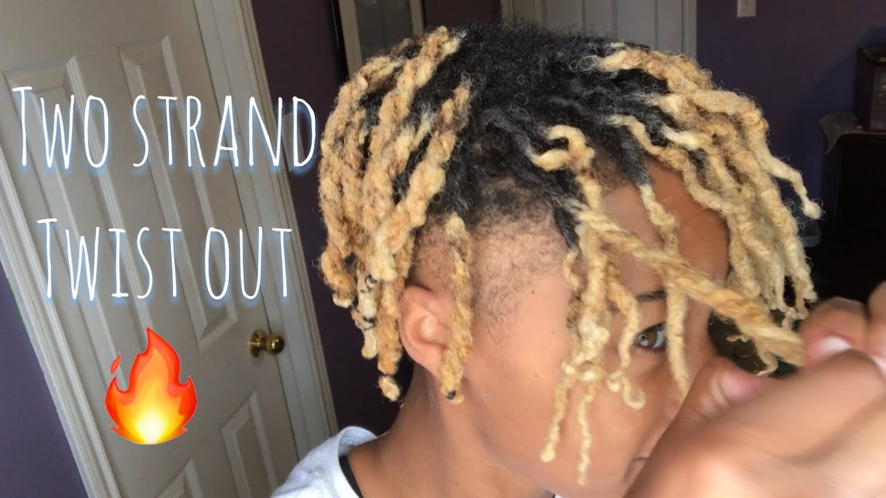 Two Strand Twist Out On Dreadlocks‼️ Youtube